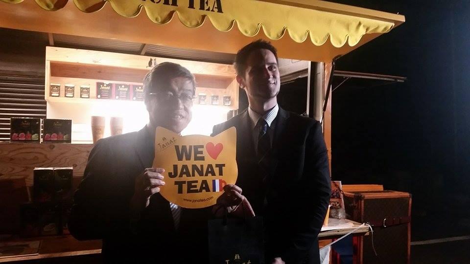 Janat Tea for Two Caravan at French embassy – 2016