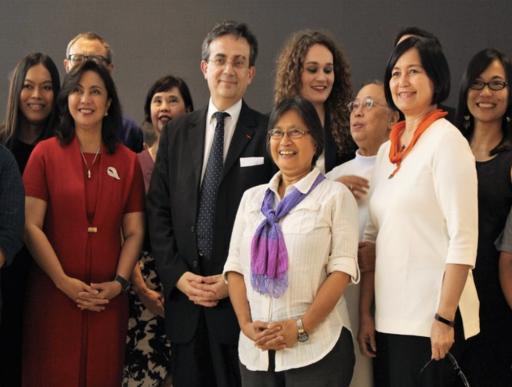 """Tea for Two at """"She for She"""" Forum in Manila"""