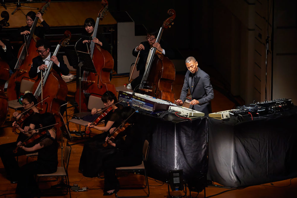 Janat Paris, official partner of Jeff Mills concert at Bunkamura